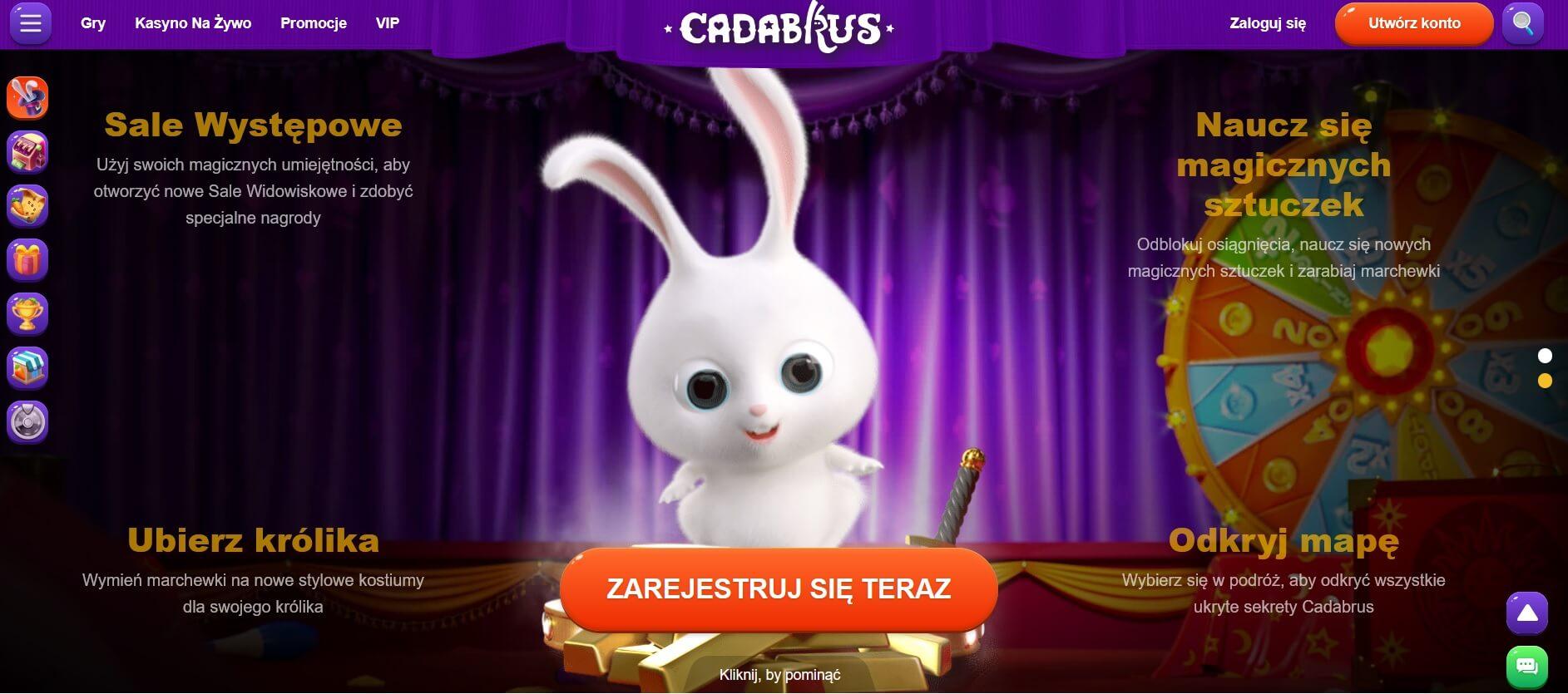 Cadubrus Rejestracja