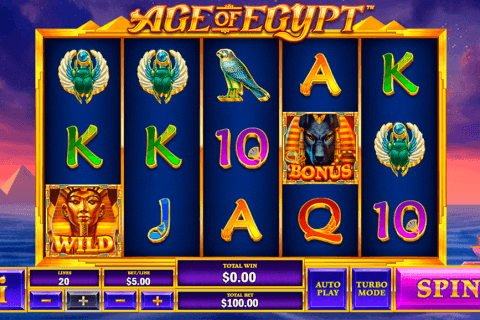 age of egypt playtech automat online