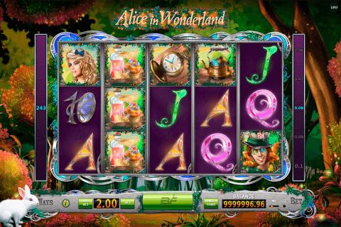 alice in wonderland bf games automat online