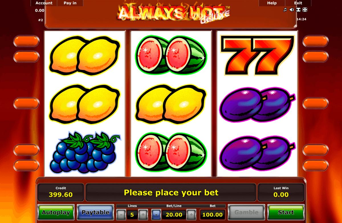 always hot novomatic automat online