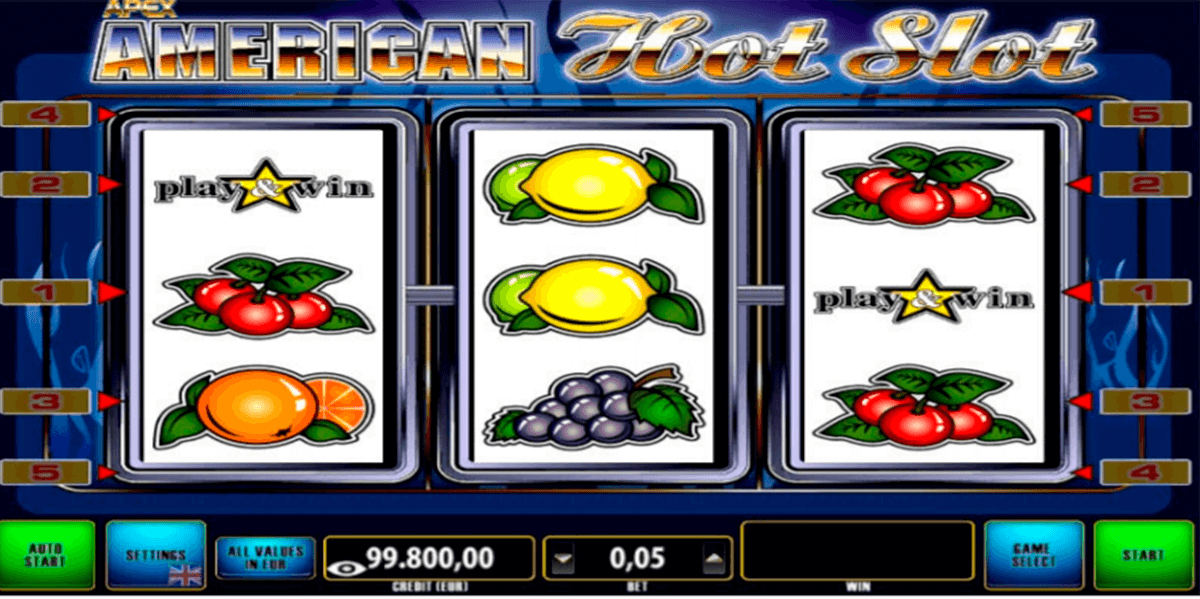 american hot slot apex automat online