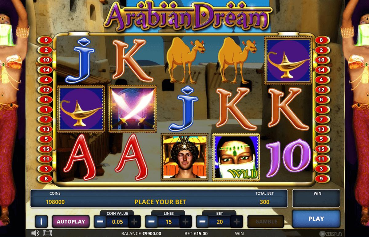 arabian dream zeus play automat online