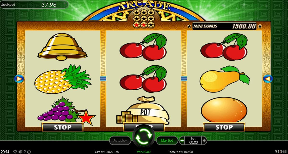 arcade wazdan automat online