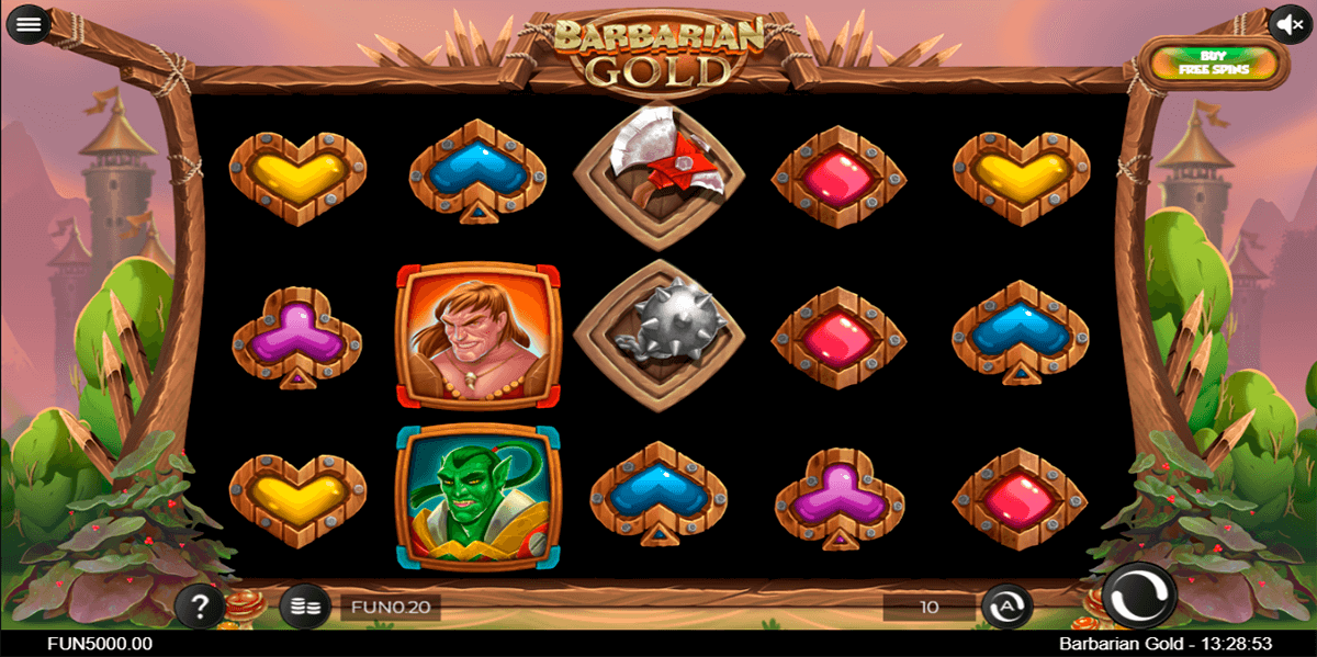 barbarian gold iron dog automat online