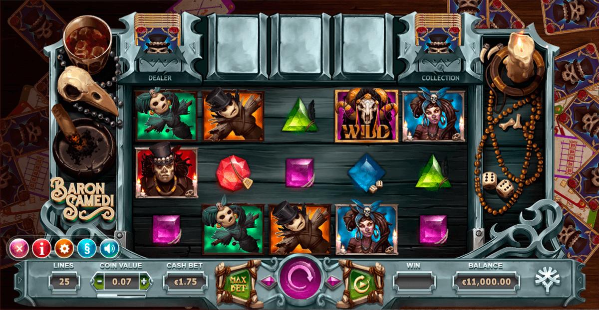 baron samedi yggdrasil automat online