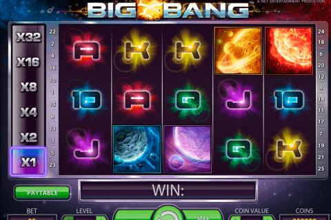 big bang netent automat online