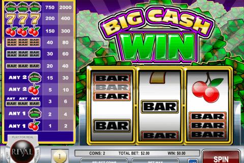 big cash win rival automat online