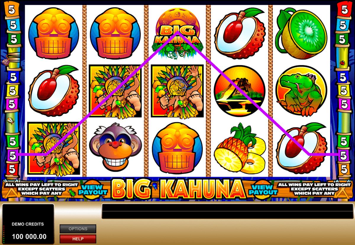 big kahuna microgaming automat online