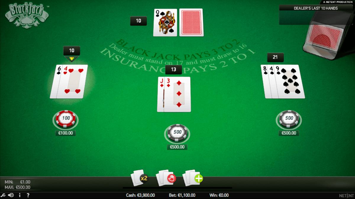 blackjack pro netent blackjack online