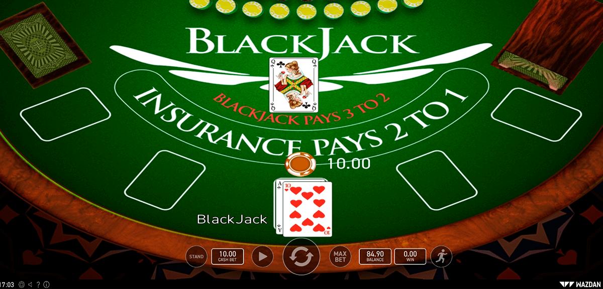 blackjack wazdan blackjack online