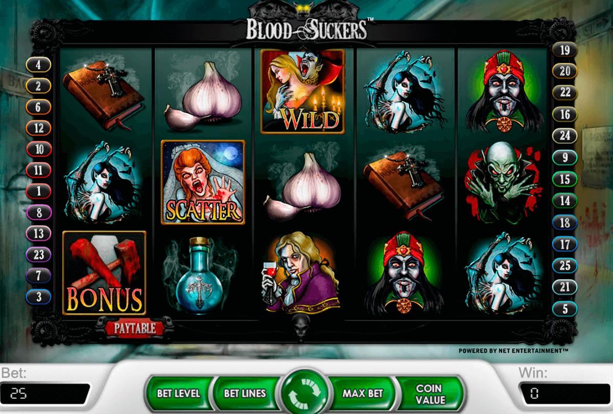 blood suckers netent automat online