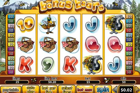 bonus bears playtech automat online