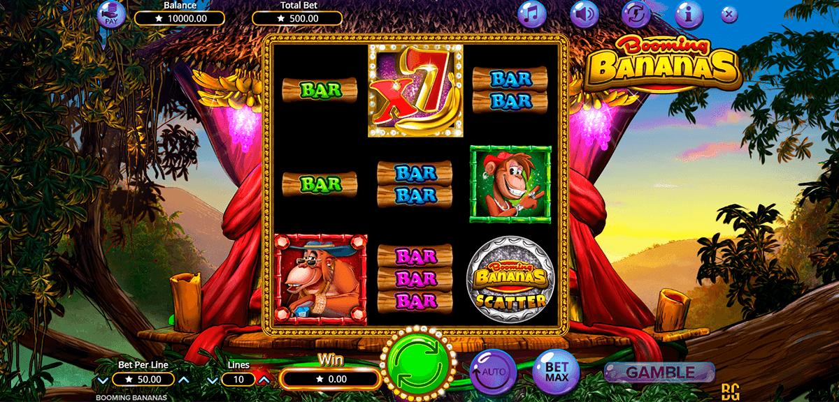 booming bananas booming games automat online