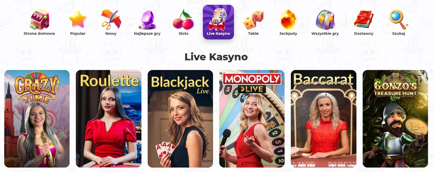 cadabrus live casino screenshot