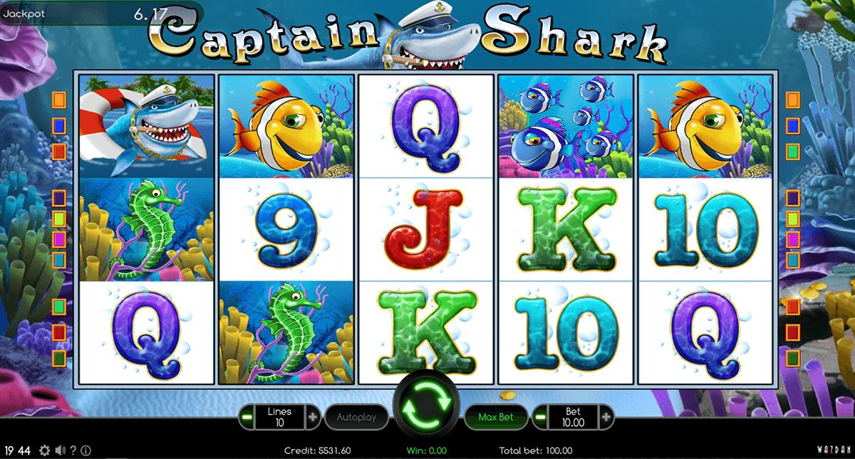 captain shark wazdan automat online
