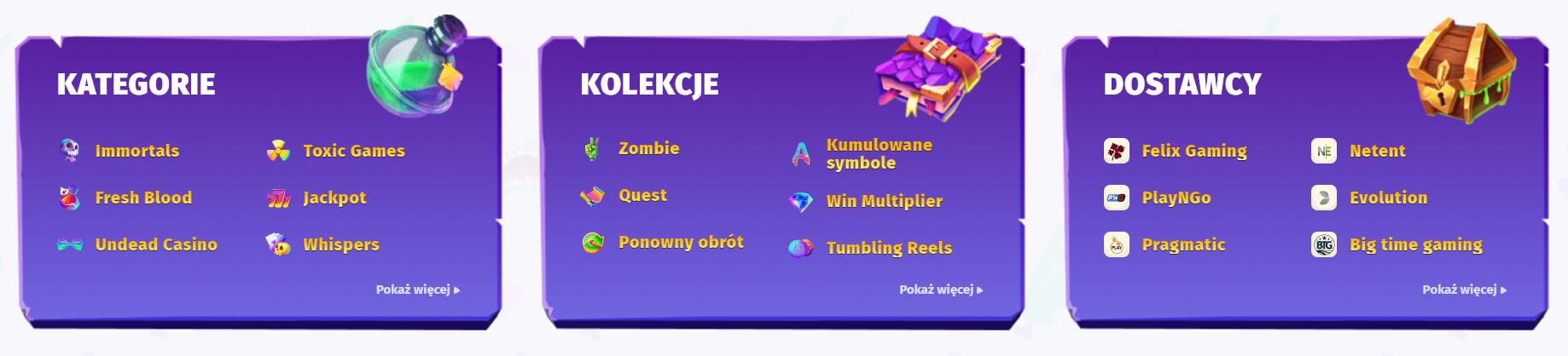 gry casino w casombie screenshot