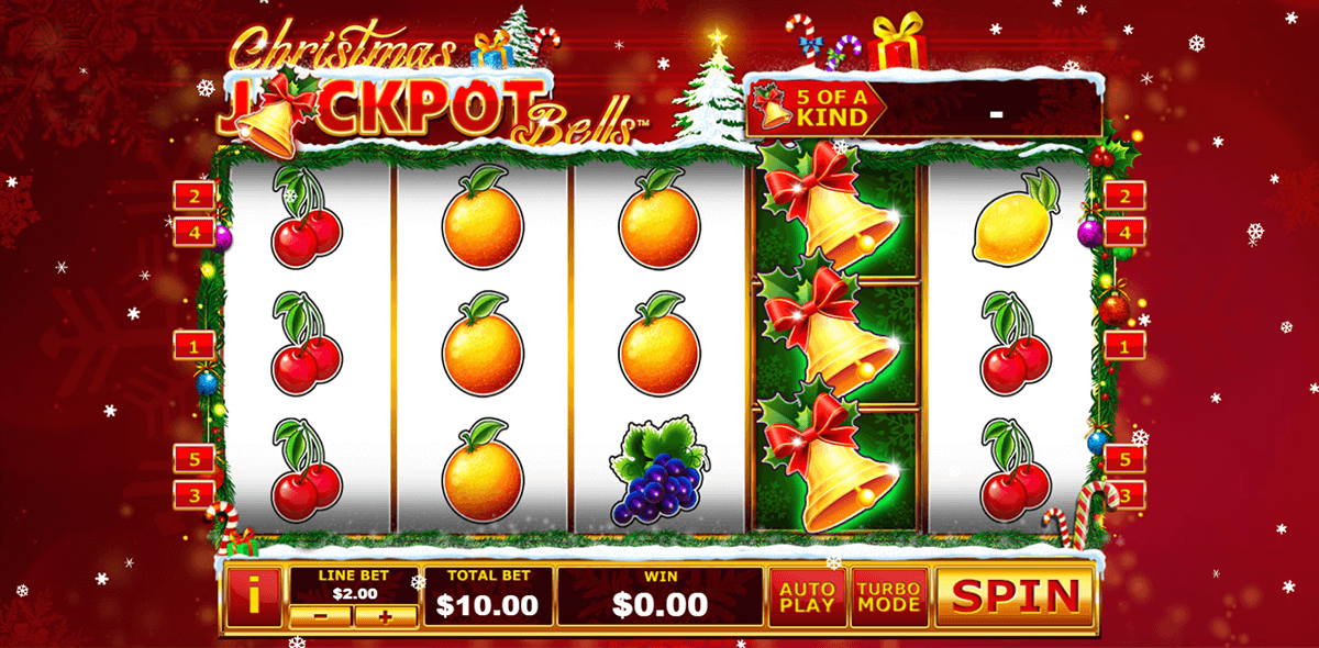 christmas jackpot bells playtech automat online