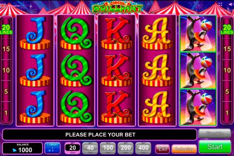 circus brilliant egt automat online