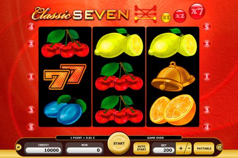 classic seven kajot automat online