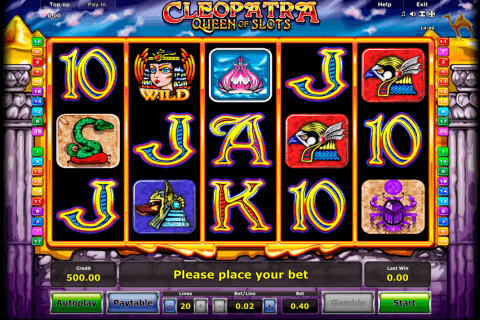 cleopatra novomatic automat online