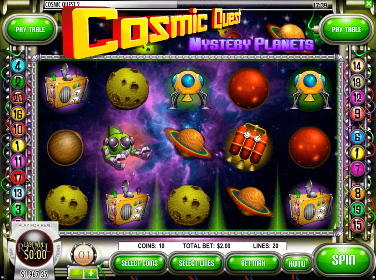 cosmic quest 2 mystery planets rival automat online