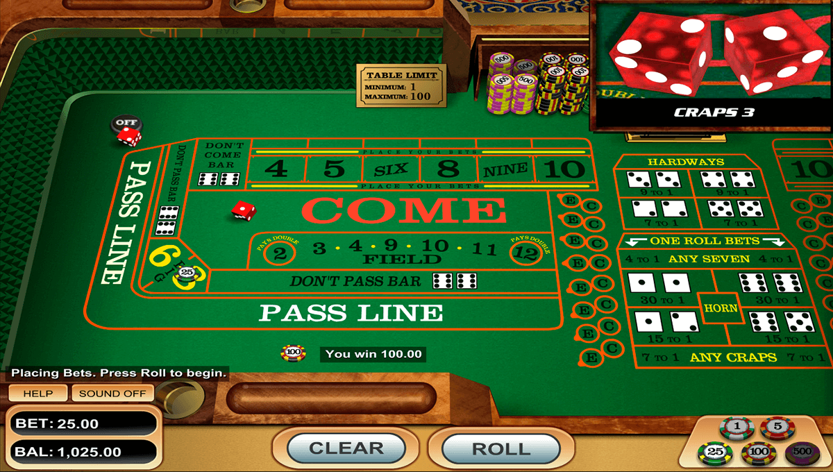 craps betsoft gra w kosci online