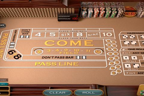 craps nucleus gaming gra w kosci online
