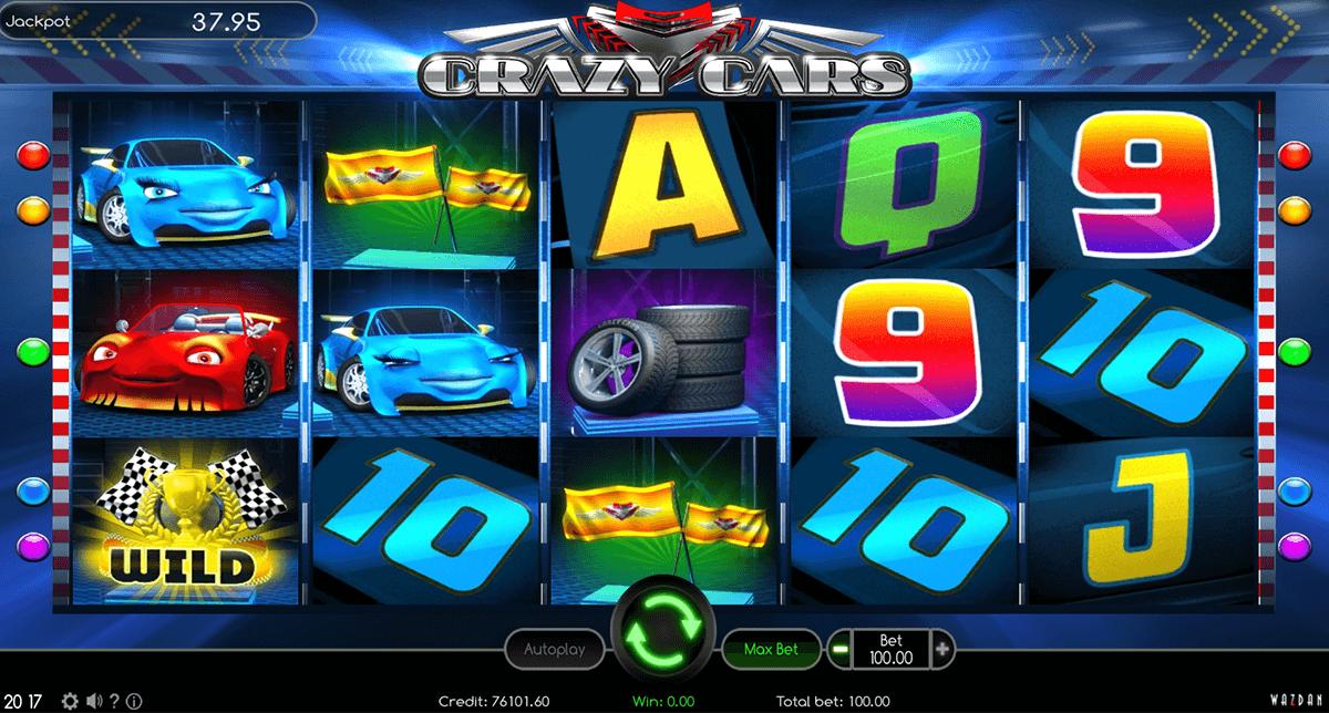 crazy cars wazdan automat online