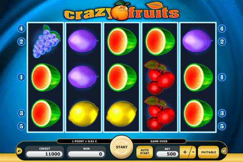 crazy fruits kajot automat online