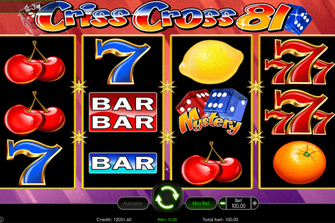 criss cross  wazdan automat online