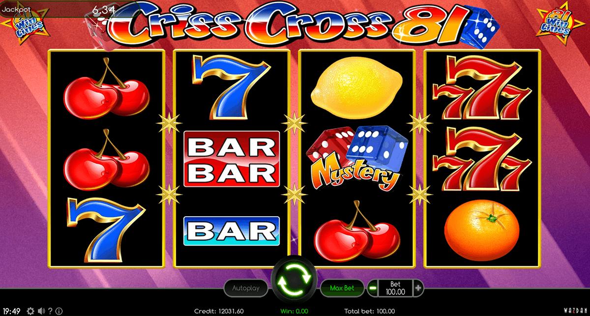 criss cross 81 wazdan automat online