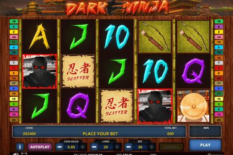 dark ninja zeus play automat online