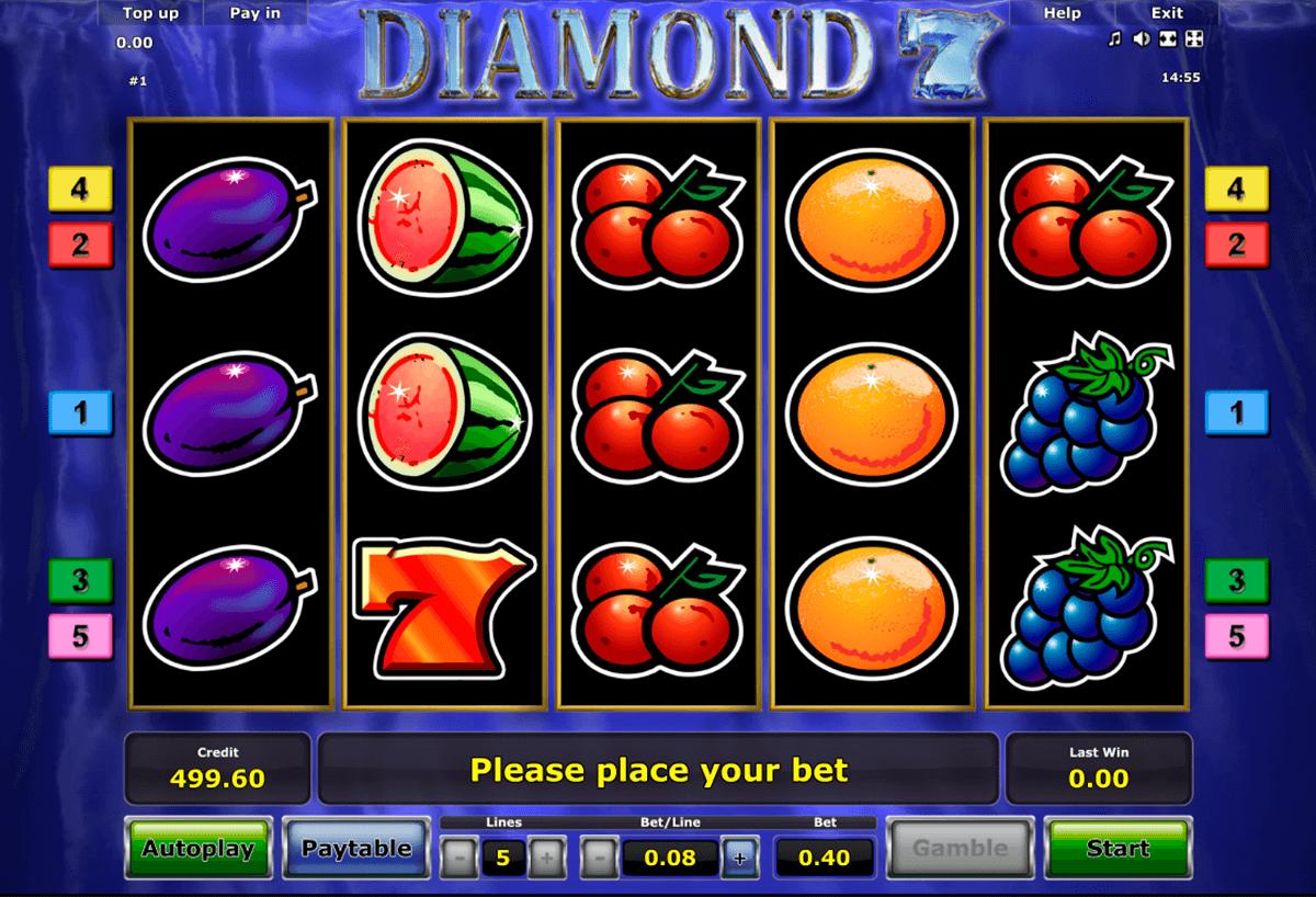 diamond 7 novomatic automat online