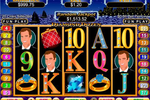 diamond dozen rtg automat online