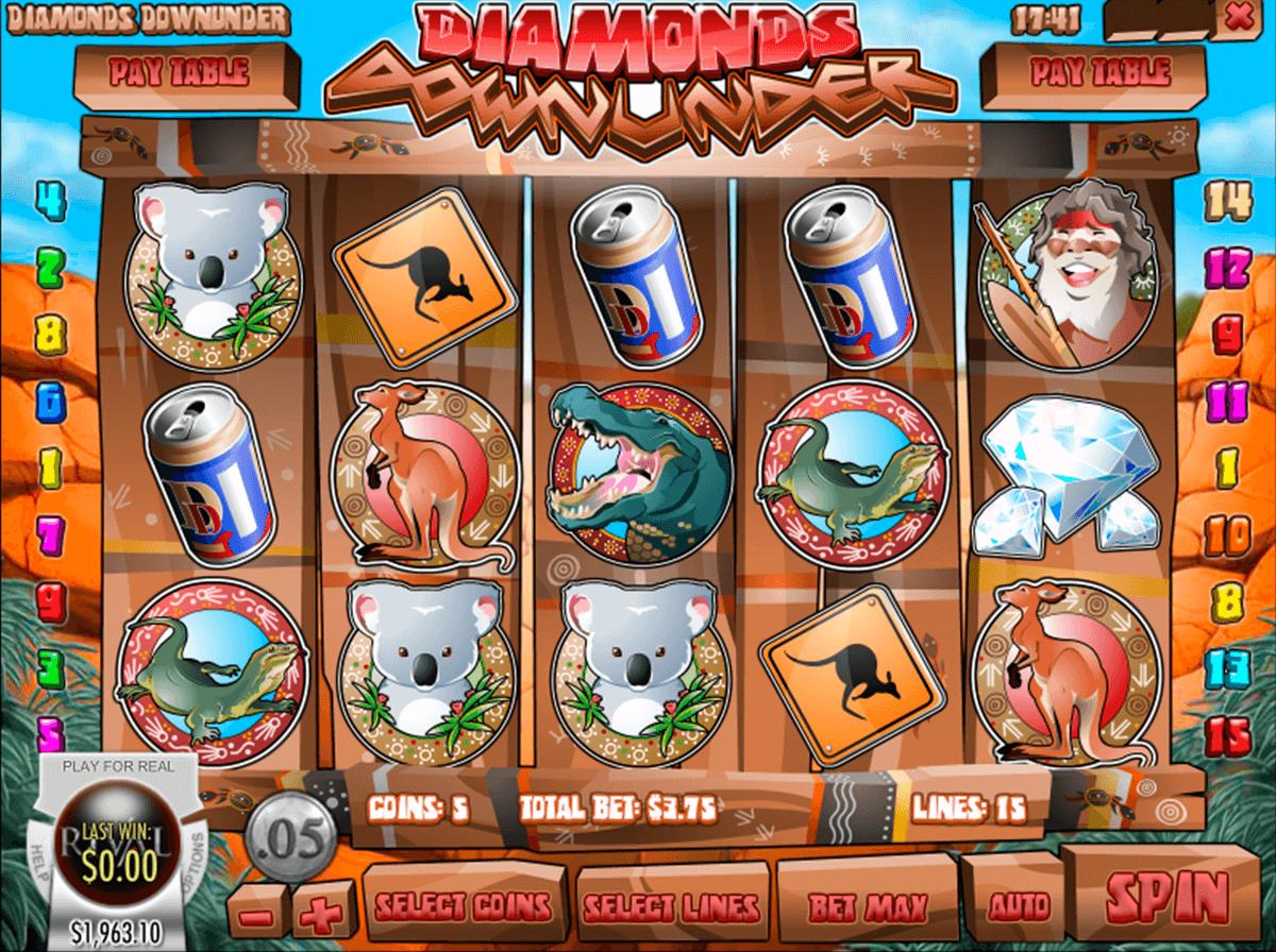 diamonds downunder rival automat online