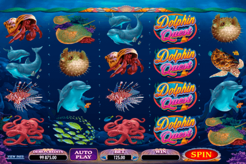 dolphin quest microgaming automat online