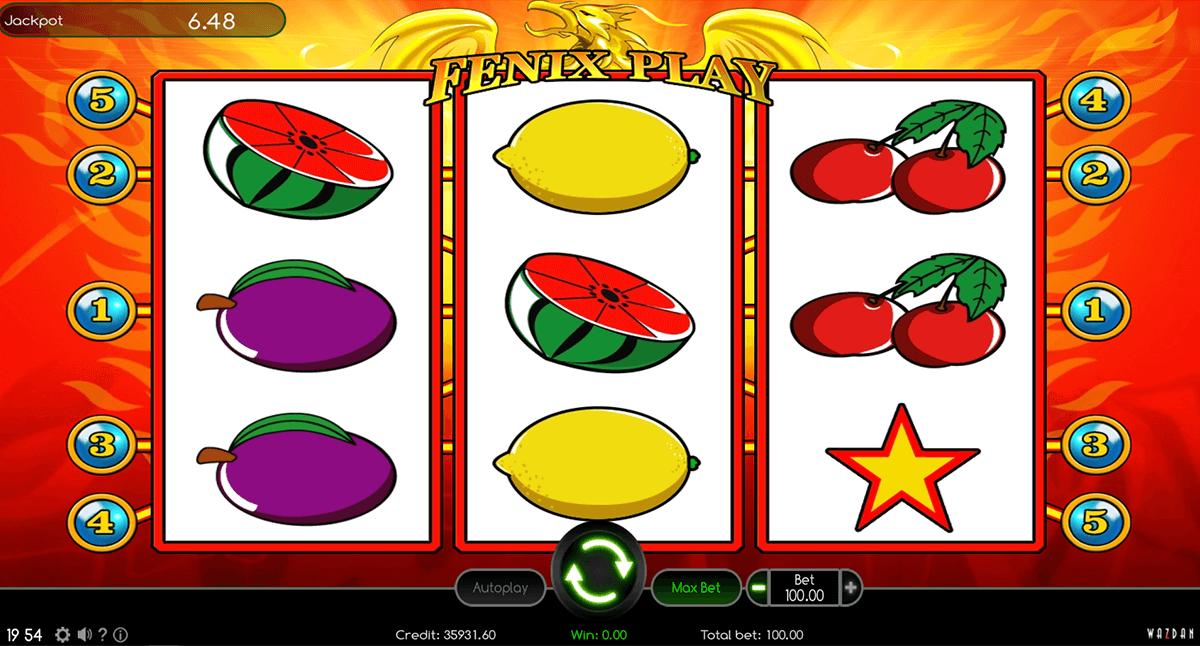 fenix play wazdan automat online