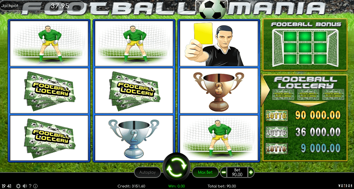 football mania wazdan automat online