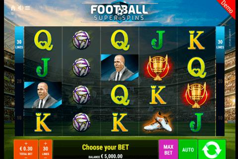 football super spins gamomat automat online