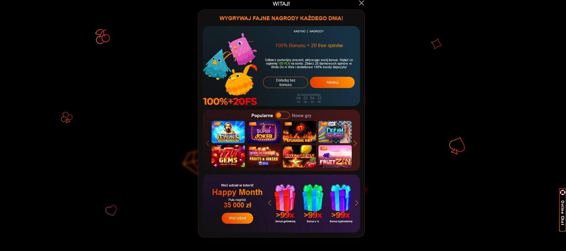 fortune clock casino rejestracja