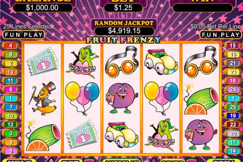 fruit frenzy rtg automat online