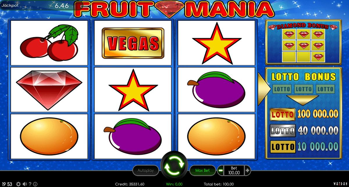 fruit mania wazdan automat online