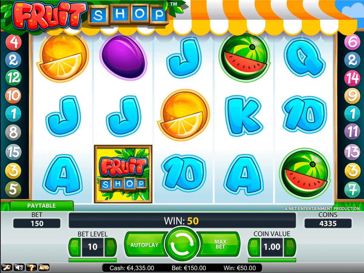 fruit shop netent automat online