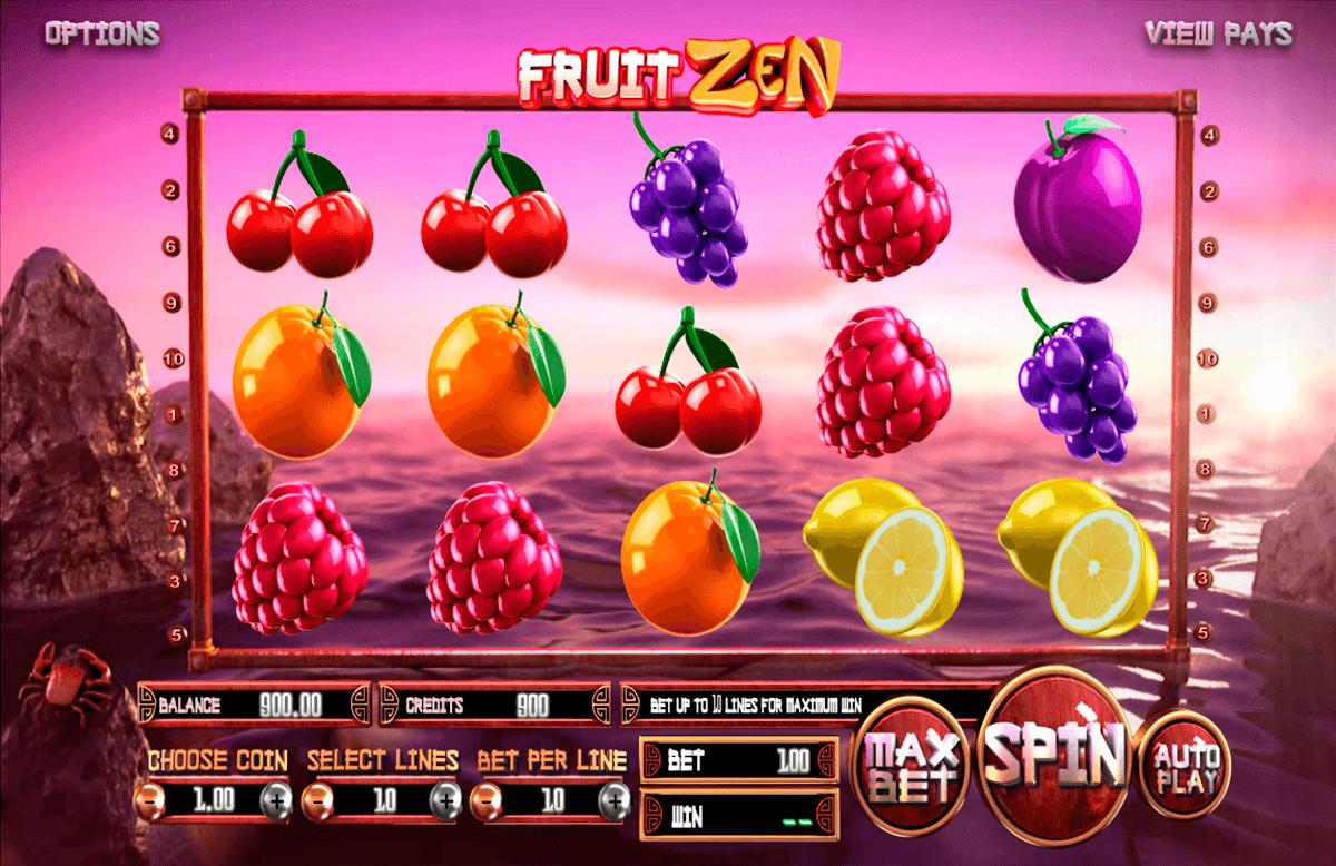 fruit zen betsoft automat online