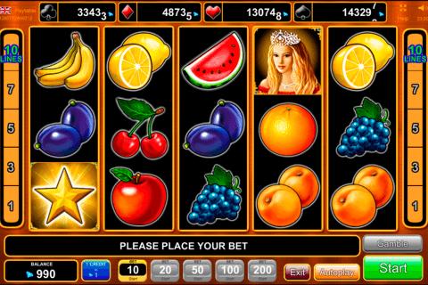 fruits kingdom egt automat online