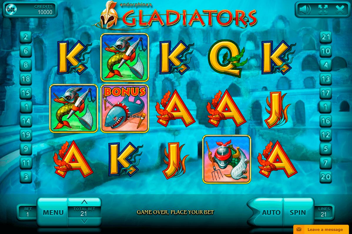 gladiators endorphina automat online