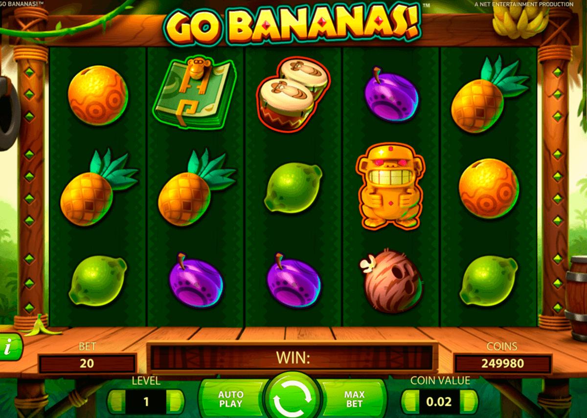 go bananas netent automat online