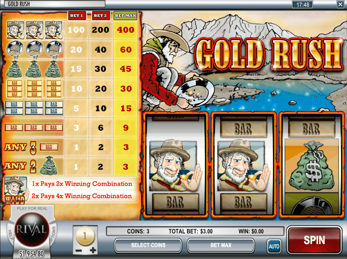 gold rush rival automat online