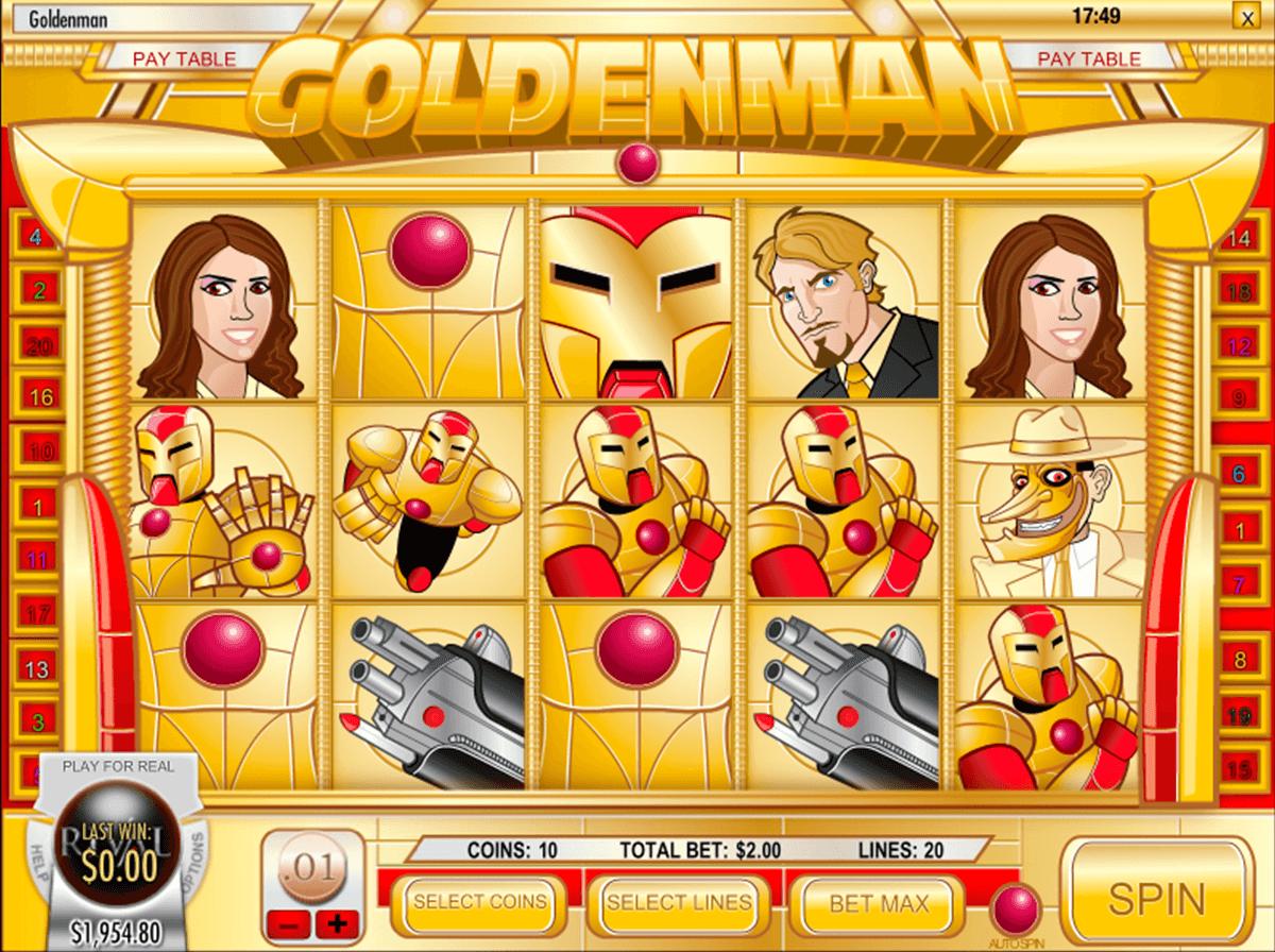 golden man rival automat online