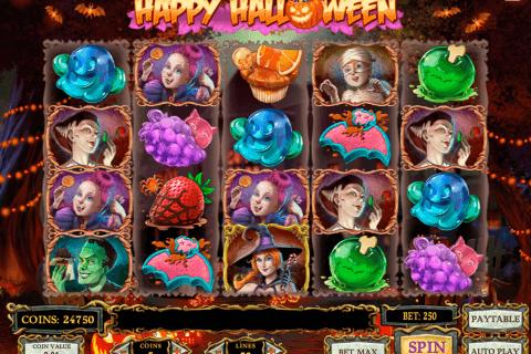 happy halloween playn go automat online
